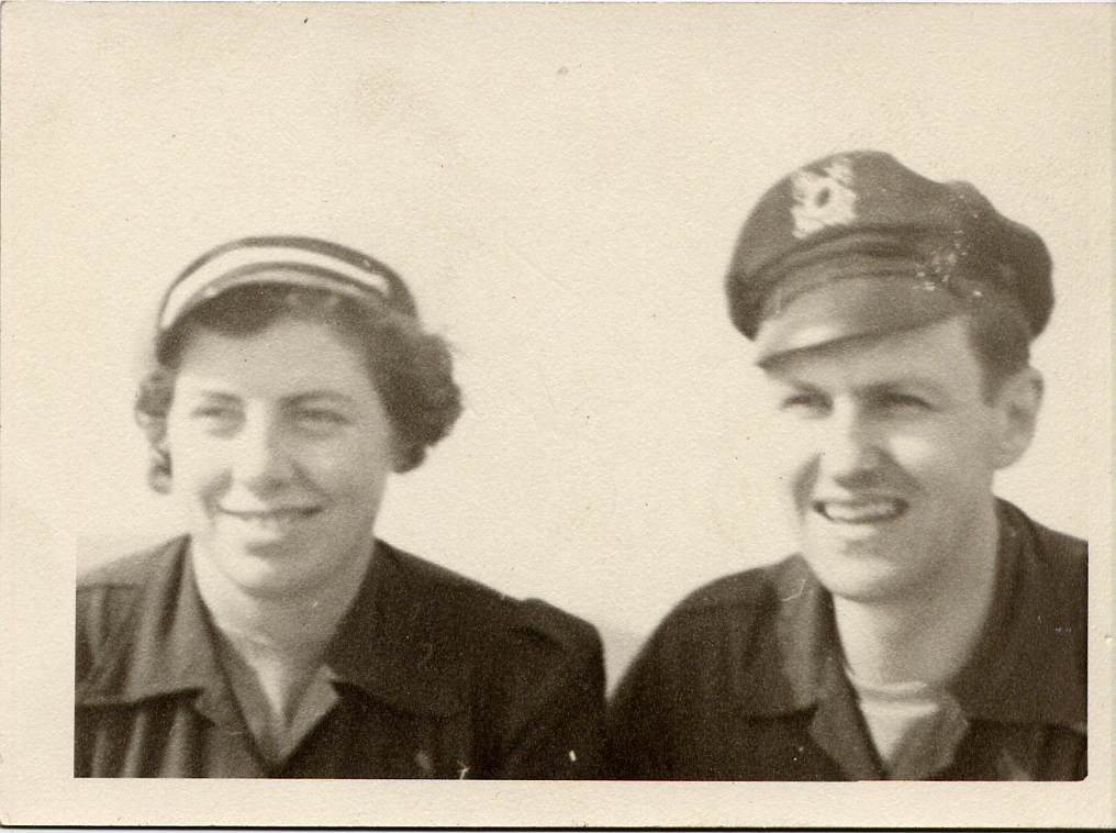 Helen and Sidney Correll sailors