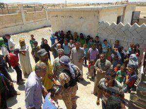 Syria feeding